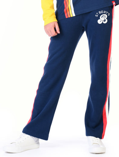 Kids Classic Sweatpants - Dress Blue/Blaze Red