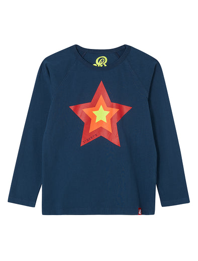 T-Shirt Triple Star - Dress Blue