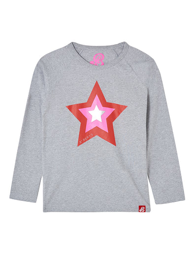 T-Shirt Triple Star - Nimbus Grey