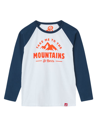T-Shirt Take Me to the Mountains - Optic White