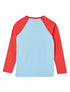 T-Shirt Ski Heart - Corydalis Blue