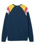 Men's Panel Sweatshirt - Dress Blue