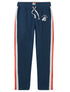Men's Sweatpants - Blue/Red/White