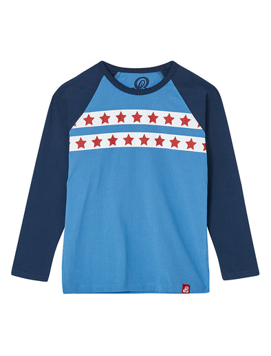 T-Shirt Star Stripe - Marina Blue