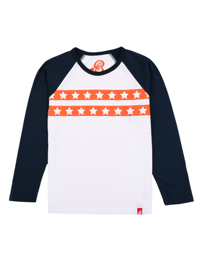 T-Shirt Star Stripe - Optic White