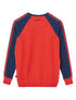 Arm Stripe Sweatshirt - Poppy Red