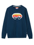 Men's Goggles Sweatshirt - Dress Blue