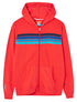 Men's Zip-Up Hoodie - Poppy Red