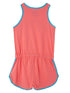 Playsuit - Coral Pink