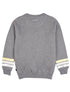 Kids Falling Star Sweatshirt - Nimbus Grey