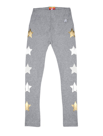Star Leggings - Nimbus Grey