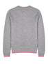 Women's Retro Striped Sweatshirt - Nimbus Grey