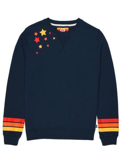 Women's Falling Star Sweatshirt - Dress Blue