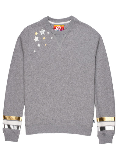 Women's Falling Star Sweatshirt - Nimbus Grey