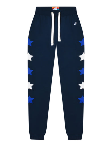 Women's Star Sweatpants - Dress Blue/Dazzling Blue