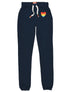Women's Rainbow Heart Sweatpants - Dress Blue