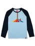 T-Shirt Funnel Ski - Corydalis Blue