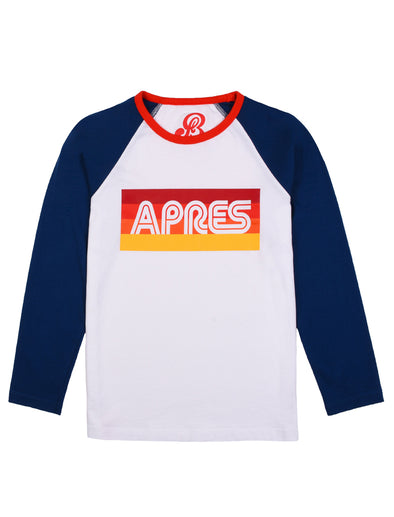 T-Shirt Apres - Optic White/Twilight Blue