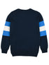 Kids Arm Stripe Sweatshirt - Dress Blue/Marina Blue