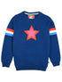 Kids Double Star Sweatshirt - Twilight Blue