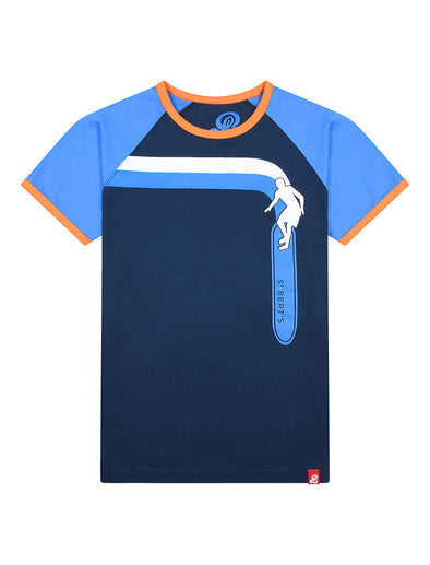 T-Shirt Longboard - Dress Blue/Marina Blue