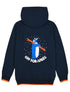 Penguin Hoodie - Dress Blue