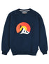 Kids Matterhorn Sweatshirt - Dress Blue