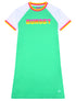 Kids T-Shirt Dress - Fresh Green