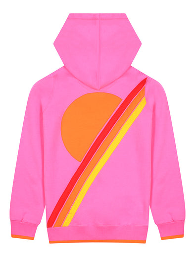 Kids Pullover Hoodie - Sunset - Sachet Pink
