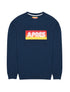 Mens Apres Sweatshirt - Dress Blue