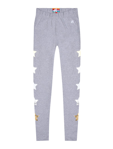 Women's Star Leggings - Nimbus Grey