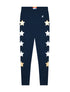 Kids Star Leggings - Dress Blue