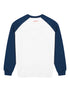 Women's Sweatshirt - Chevron - Cloud Dancer/Dress Blue
