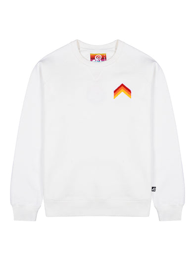 Women's Sweatshirt - Chevron - Cloud Dancer