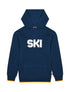 Kids Ski Shadow Hoodie - Dress Blue
