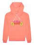 Women's Hawaiian Surf Hoodie - Fuzzy Peach