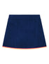 Women's Terry Towelling Skirt - Twilight Blue