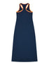 Women's Racer-Back Dress - Dress Blue