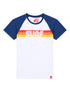Men's T-Shirt Surf - Optic White/Twilight Blue