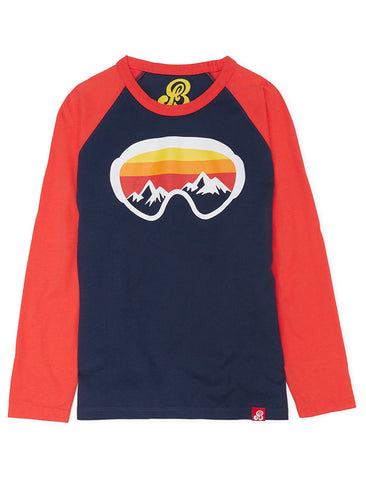 T-Shirt Ski Goggles - Dress Blue