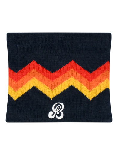 Kids Zigger-Zag Snood - Blue/Red