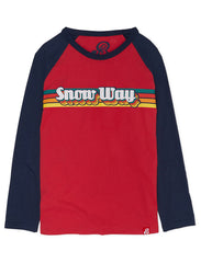 T-Shirt Snow Way - Ski Patrol Red