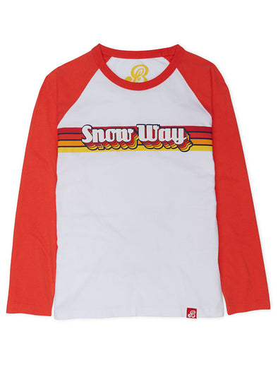 T-Shirt Snow Way - Optic White