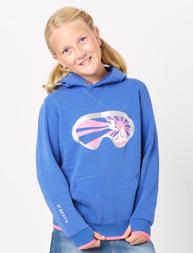 Goggles Hoodie - Dazzling Blue