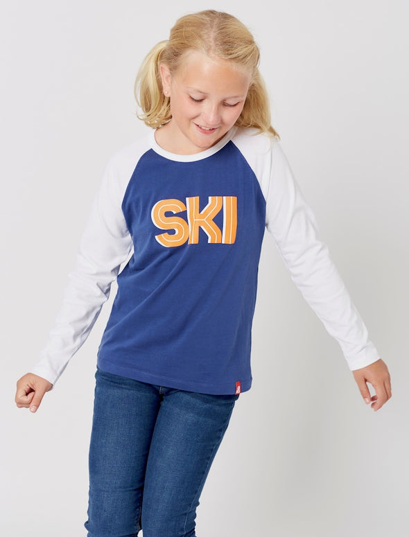 T-Shirt Ski - Twilight Blue