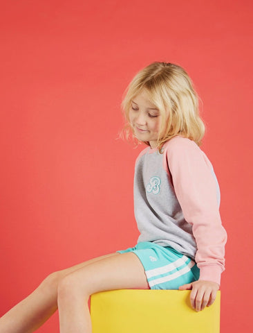 Girls Shorts - Bermuda Green
