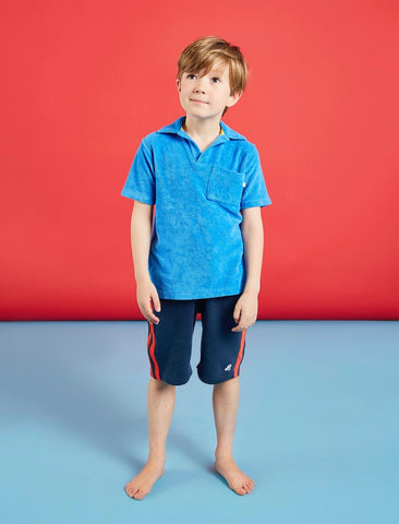 Boys Shorts - Dress Blue