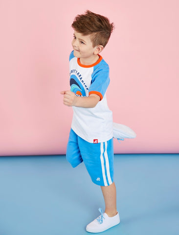 Boys Shorts - Marina Blue