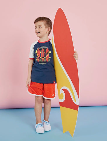 T-Shirt Surfboards - Dress Blue