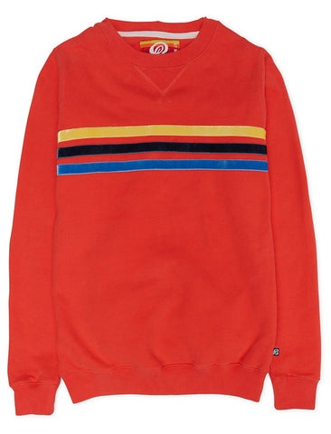 Star Sweatshirt - Poppy Red